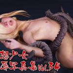 仮想少女陵辱写真集 Vol.34 サークル:ポザ孕